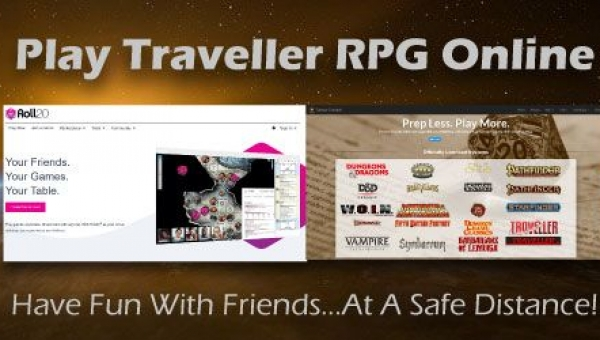 How To Play Traveller RPG: Play Traveller RPG Online