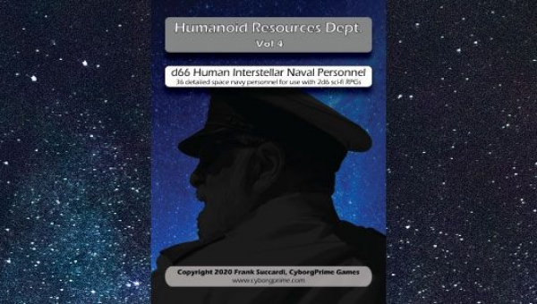 New Release: HR Dept v4- d66 Interstellar Naval Personnel cover