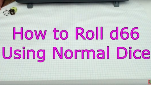 How To Roll d66 Using Common 6-Sided Dice video