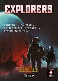 Explorers: A Supplement For Cepheus Engine And HOSTILE Science Fiction Setting at DriveThruRPG
