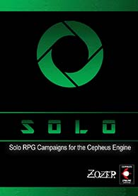SOLO: A Solo Add-on For Cepheus Engine at DriveThruRPG
