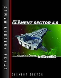Ships of Clement Sector 4-6 Traders Scouts and Small Craft at DriveThruRPG