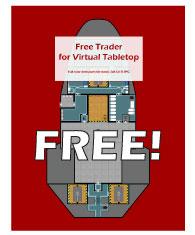 Traveller RPG Ship Free Trader Free PDF