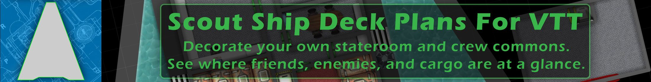 Scout Ship Deck Plans For Roll20 VTT