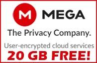 MEGA Cloud Storage- User encrypted.