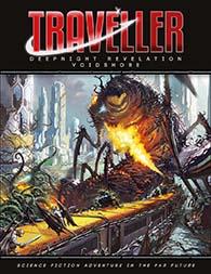 Mongoose Traveller RPG Deepnight Revelation Voidshore adventure at DriveThruRPG