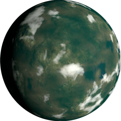 Traveller RPG Planet: 20 Percent Water Hot Thin Methane