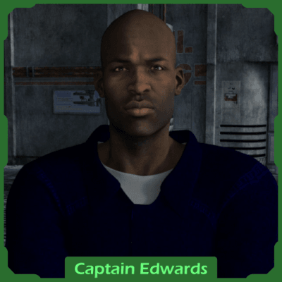 Traveller RPG Character: Captain Edwards