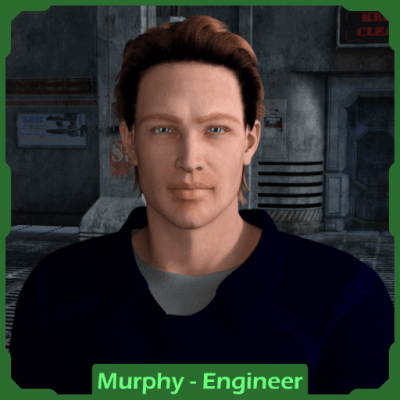 Traveller RPG Character: Engineering Officer Murphy
