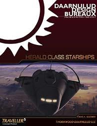 HERALD Class Starships For Traveller 5 RPG starship deck plans at DriveThruRPG